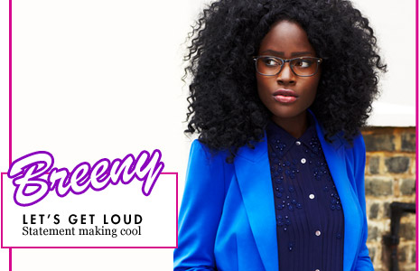 Breeny Let's get loud Statement making cool