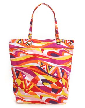 Printed Beach Shopper at ASOS :  asos totes