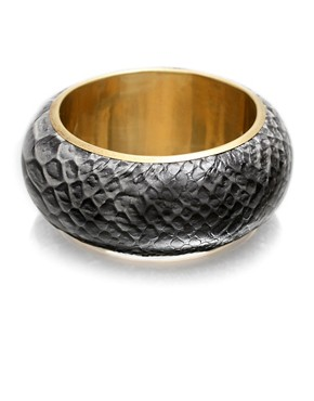 ASOS | Snake Print Bangle at ASOS :  python bracelets design fashion accessories