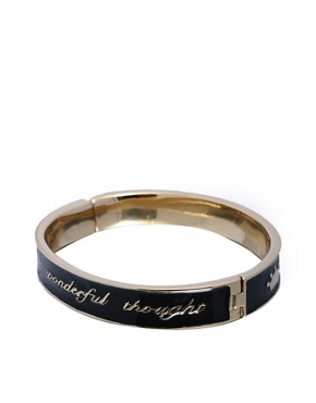Disney Couture | Disney Couture Tinkerbell 'Think Wonderful Thoughts' Bangle at ASOS