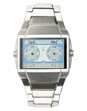 ASOSMAN | ASOS Cassette Face Watch at ASOS