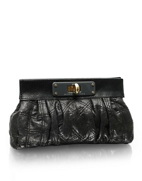 Marc Jacobs | Marc Jacobs Leather Quilted Clutch at ASOS :  fashion accessory fashion accessories designer marc jacobs
