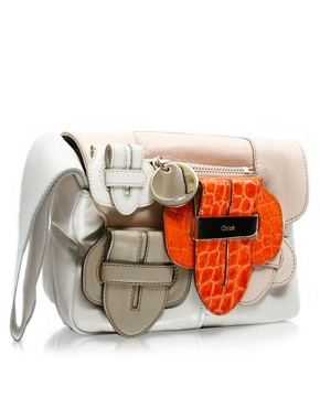 Chloe | Chloe Soft Leather Buckle Bag at ASOS :  fashion accessories designer bagsandpurses buckle detail