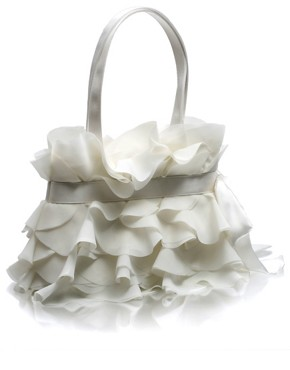 Coast | Coast Ruffle Evening Bag at ASOS :  fashion accessory fashion accessories bagsandpurses satin