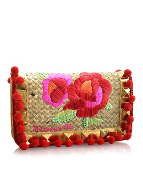 Betsey Johnson | Betseyville Playa De Betsey Clutch at ASOS from asos.com