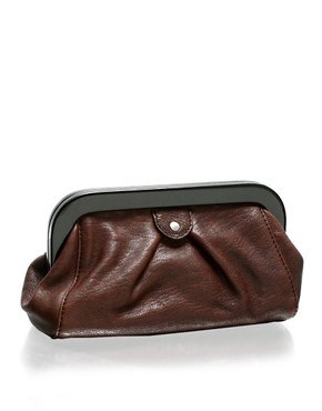 Ted Baker | Ted Baker Leather Clutch at ASOS :  leather asos clutch ted baker