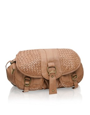 ASOS | Woven Pocket Across Body Satchel at ASOS :  shopping spring trends fashions womens clothing