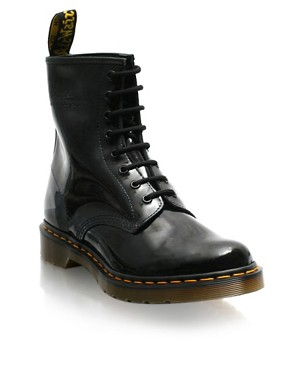 Daisy Lowe | Agyness Deyn | Dr Martens Lace Up Patent Boots at ASOS :  daisy lowe boots shoes lace up