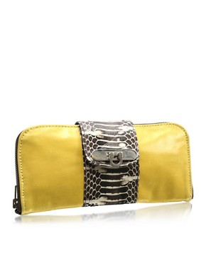 Mogil | Mogil Exclusive to ASOS Twister Purse at ASOS :  fashion accessory fashion accessories bagsandpurses metallic