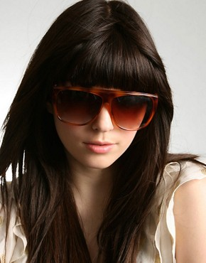 Jeepers Peepers | Jeepers Peepers Faded Plastic Sunglasses at ASOS :  eyewear faded plastic sunglasses tinted lenses sunglasses