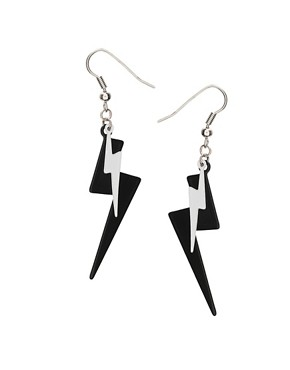ASOS | ASOS Lightning Bolt Drop Earrings at ASOS :  drop asos bolt at