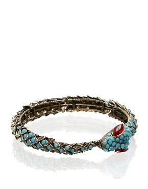 ASOS | ASOS Set Stone Snake Bangle at ASOS :  bangle asos bracelet snake