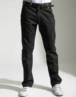 Lee | Lee Clark Fashion Chino Trousers at ASOS :  pants trousers asos men
