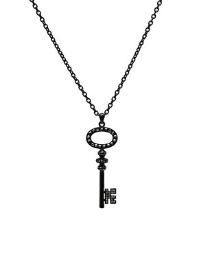 Mikey | Mikey Stone Set Key Pendant at ASOS :  key set mikey asos
