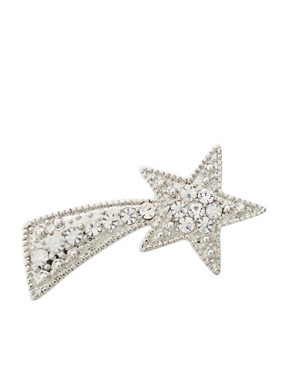 ASOS | ASOS Stone Encrusted Shooting Star Brooch at ASOS