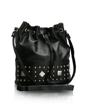 ASOS | ASOS Studded Across Body Duffle Bag at ASOS :  studded asos duffle at