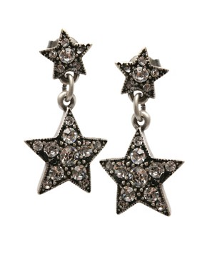 Cath Kidston | Cath Kidston Star Drop Earrings at ASOS :  star drop asos at