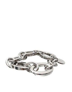 Karen Millen | Karen Millen Custom Chain Bracelet at ASOS :  chain karen asos bracelet