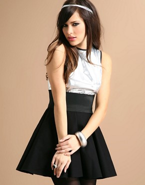 The Laden Showroom | Jones & Jones Skater Dress With Belt at ASOS :  with dress the laden