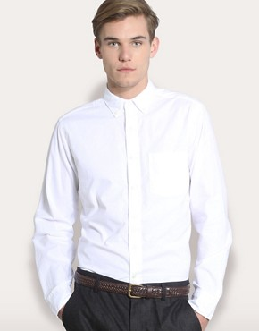 Gap New Solid Oxford Shirt