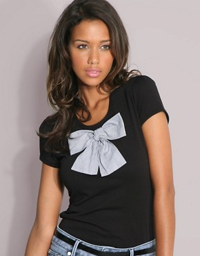 ASOS Big Bow Tee