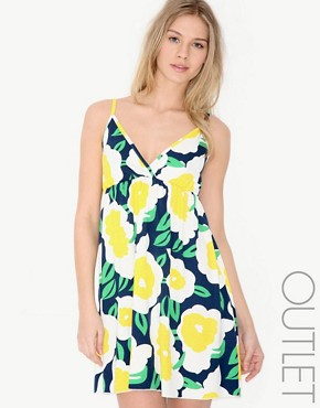  Ringspun - Large Daisy Print Sundress :  dresses summer floral print dress ringspun