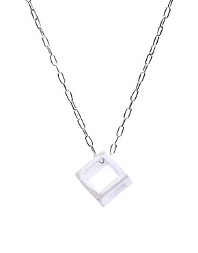 Chronicles Of Never Square Pendits Necklace