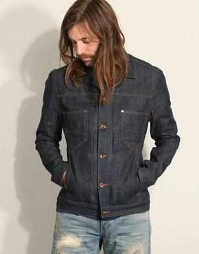 Edwin Flathead Red Selvedge Denim Jacket