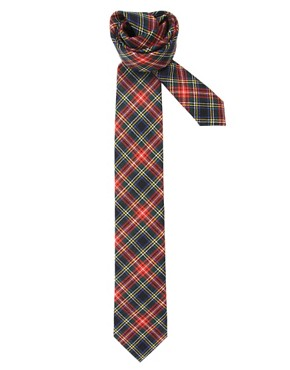 Drakes Of London Tartan Tie