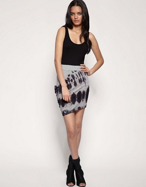 Cheap Monday - Tie Dye Drape Skirt :  tie dye skirt draped skirt tie dye asos