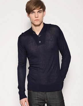 Peter Werth Shawl Neck Jumper