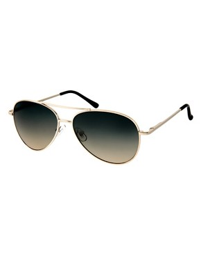 ASOS | ASOS 2 Tone Lens Aviator Sunglasses at ASOS