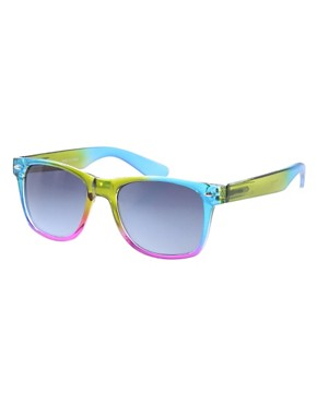 ASOS Multi Coloured Retro Sunglasses :  retro sunglasses glasses shades wayfarers