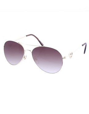 ASOS | ASOS Peace Heart Arm Aviators at ASOS :  sunglasses