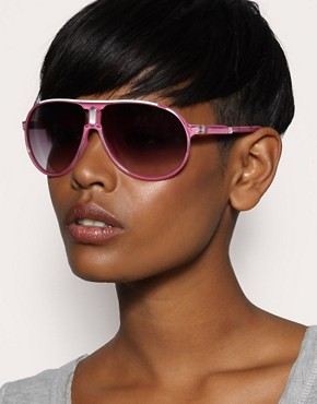  ASOS - Centre Detail Plastic Aviators :  aviator sunglasses aviators accessories candy colored