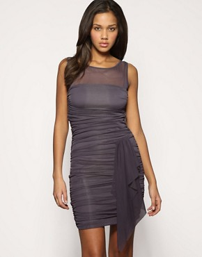 ASOS | ASOS Mesh Insert Bandage Dress at ASOS