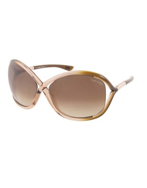Tom Ford | Tom Ford Whitney Sunglasses at ASOS :  21400 brown sunglasses celebrity sunglasses fashion sunglasses