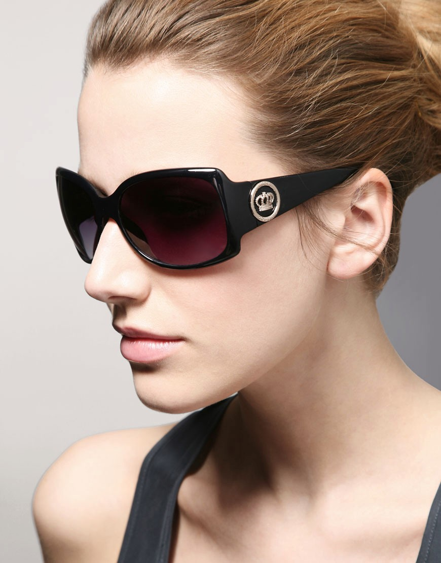 Juicy Couture | Juicy Couture No Drama Sunglasses at ASOS :  11000 designer sunglasses celebrity sunglasses fashion sunglasses