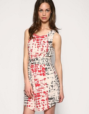 Whistles | Whistles Lino Print Sun Dress at ASOS