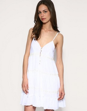 Yumi | Yumi Vintage Cotton Slip Dress at ASOS