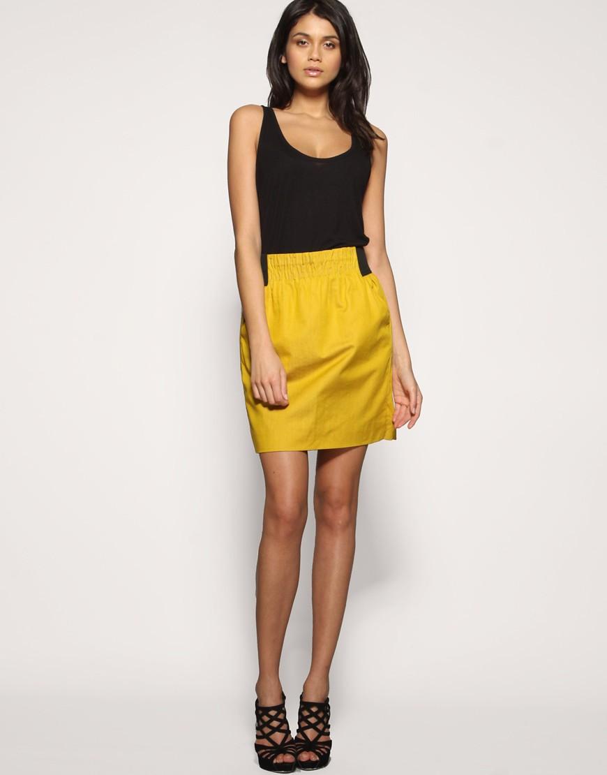 Very by Vero Moda Elastic Waist Tulip Skirt at ASOS