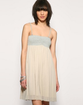 Vero Moda | Vero Moda Jersey Bandeau Net Dress at ASOS