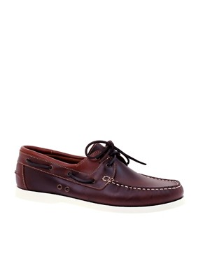 KG By Kurt Geiger Sorento Leather Deck Shoes