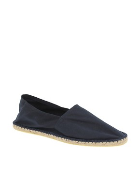 ASOS Canvas Slip-On Espadrilles