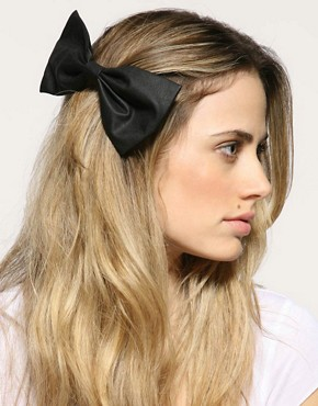 ASOS Oversized Bow Hair Clip :  asos hair bows bow