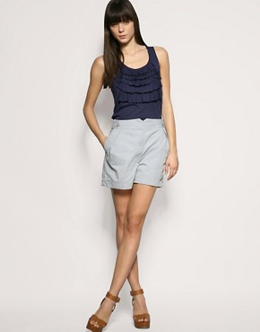 Gap Ruffle Vest Top at ASOS from asos.com