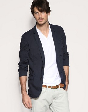Replay Two Button Casual Blazer Jacket