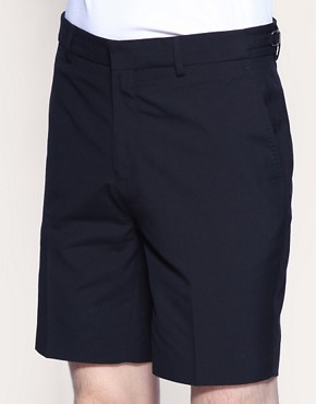 ASOS Tailored Navy Short