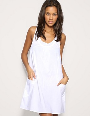ASOS | ASOS Trapeze Pocket Sundress at ASOS :  asos white trapeze labor day
