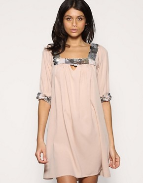 ASOS | ASOS Embellished Smock Dress at ASOS